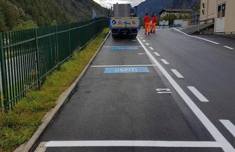 """realizzazione parcheggio per """"ospiti"""" durate evento"""