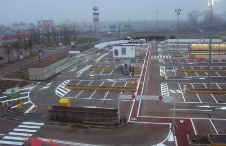 parcheggi: segnaletica orizzontale